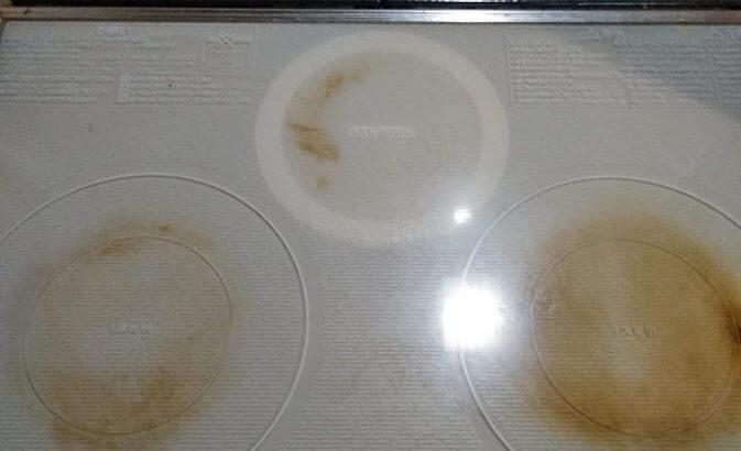 IHヒーターのこげた汚れを簡単に落とす方法を画像付きで紹介!