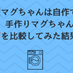洗濯マグちゃんの自作!手作りまぐちゃんとコスパを比較した結果がすごい