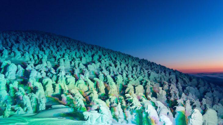 蔵王の樹氷への服装と見頃・ロープウェイの割引情報あり!