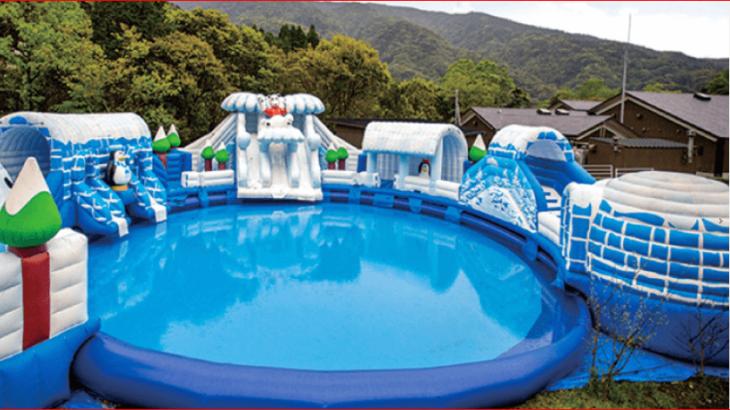 垂水・猿ヶ城のプールの新料金と営業時間・温泉やカフェの感想・口コミ!