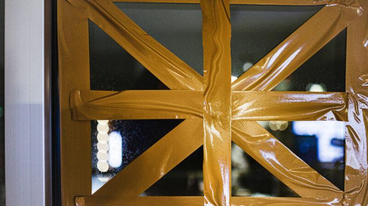 養生テープの代用品はガムテにマステ?台風から窓ガラスを守る貼り方も紹介!